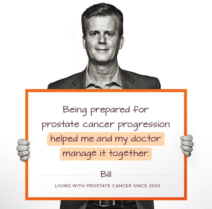 Being Prepared for Prostate Cancer Progression, Bill