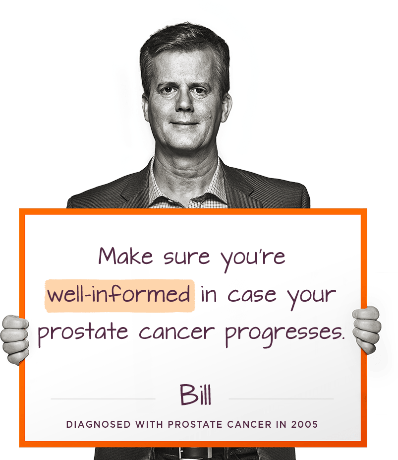 Prostate Cancer Patient; Bill